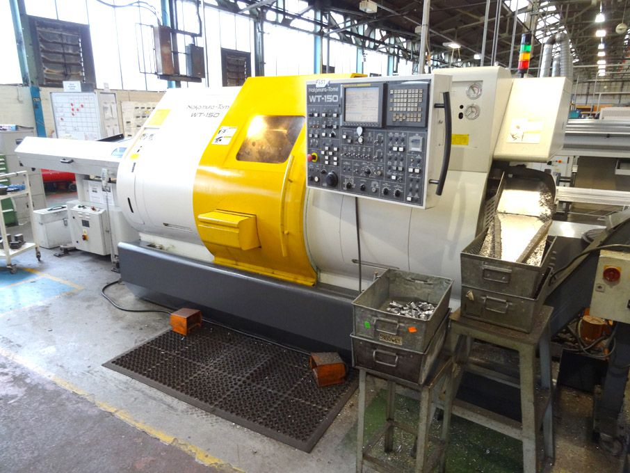 Nakamura Tome WT-150 CNC twin spindle turning cent...