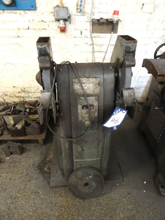 "Elliott 12"" double ended grinder - Lot Located at:..."