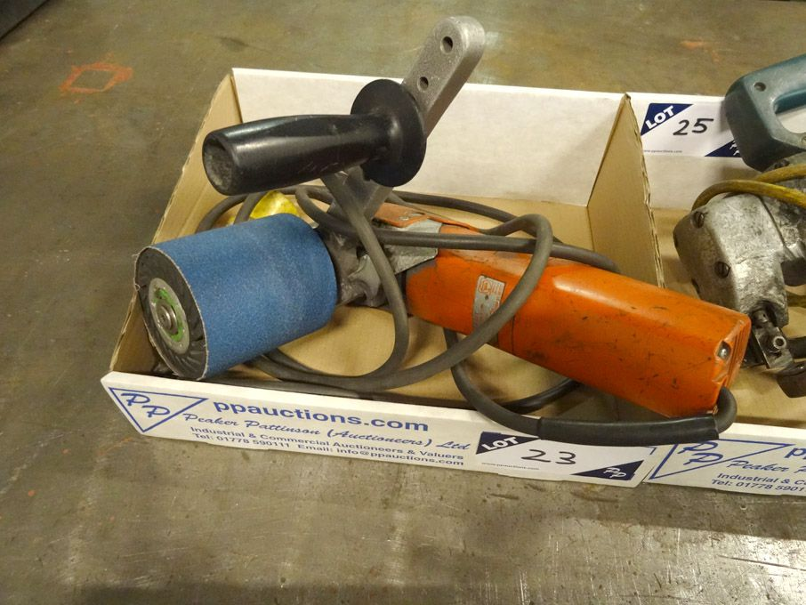 Vein WPG 12-27E hand held linisher / angle grinder...
