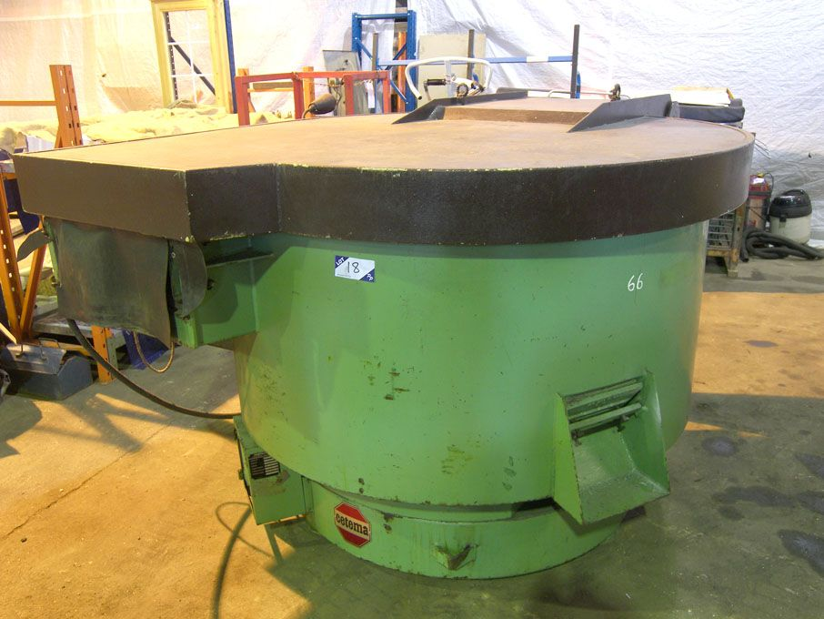 Cetema P481 1500mm rotary vibratory bowl with unlo...