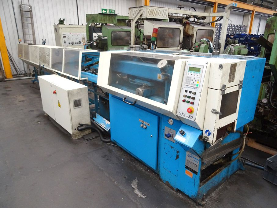 Conni STA80 tube cutting line, Siemens Simatic OP7...