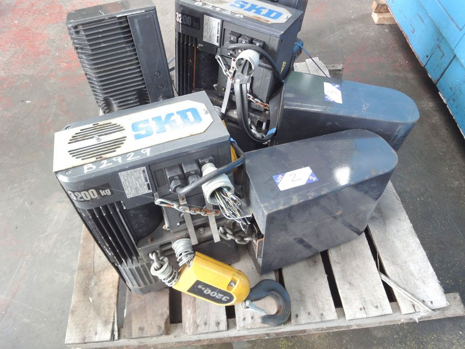 SWF 32SKD overhead electric chain hoist, 3200kg SW...