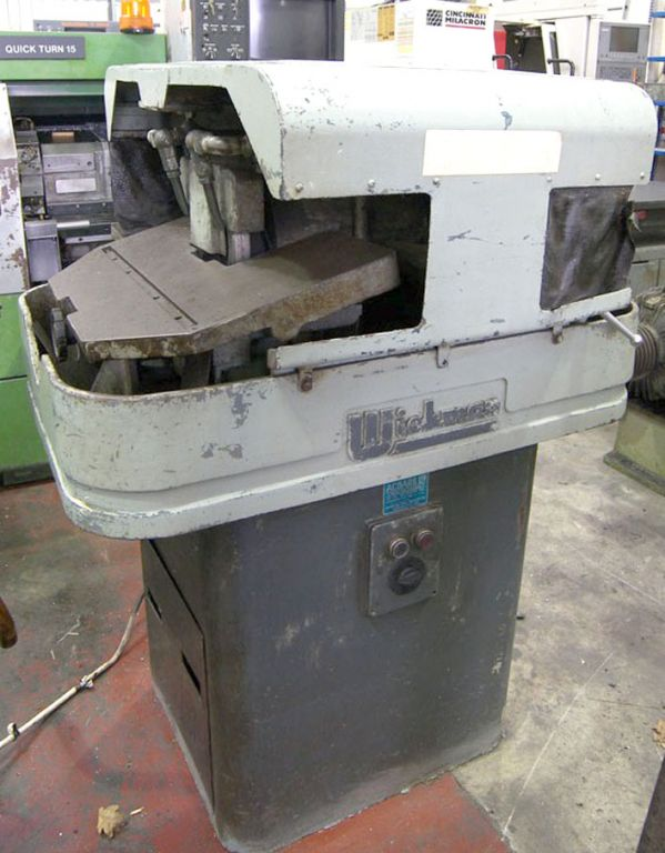 "Wickman 8"" grinding / lapping machine, 600x44..."