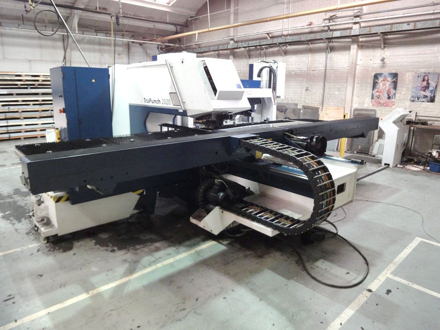 Trumpf TruPunch 2020 CNC turret punch, Bosch type...