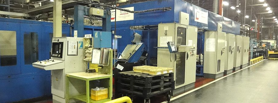 YS760 CON ROD MACHINING LINE