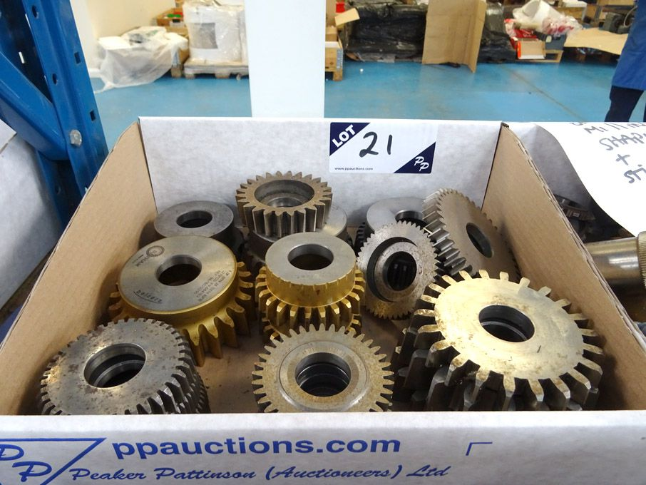 Qty various hob & shaping cutters inc: 6DP x 20PA,...